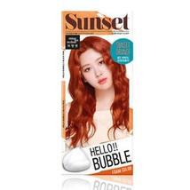 Easy Hair Coloring, mise en scene Hello Bubble Foam Color Vivid Orange [8O Sunse