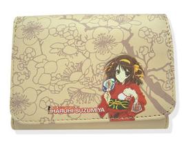 Haruhi 2: Haruhi In Yukata Wallet GE2474 NEW! - $27.99