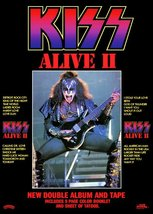 KISS Gene Simmons ALIVE II Album Promo Stand-Up Display - Rock Band The ... - $15.99