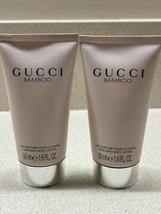 X2 Gucci Bamboo Perfumed Body Lotion 1.6 fl oz/50 ml NEW - $24.74