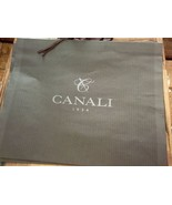 "100% Authentic CANALI LARGE 25"" x 20 1/2"" Shopping Tote Gift Bag - $14.50"