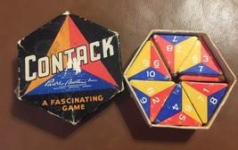 """CONTACK"" Game Parker Brothers Original Box + No Instructions 1939 - $9.89"