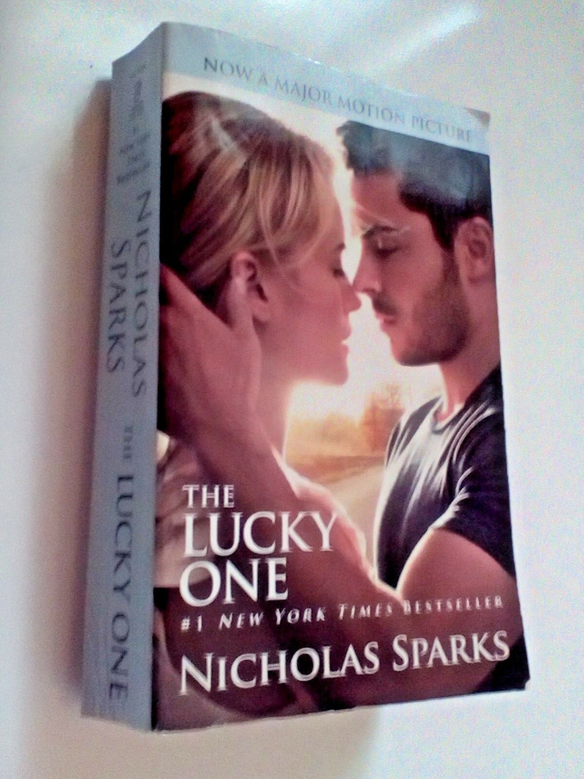 The Lucky One by Nicholas Sparks Paperback Book