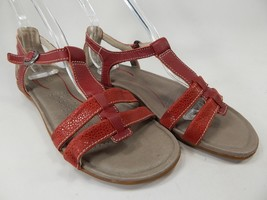 Keen Rose City T Strap Women's Sport Sandals Size 7 M EU 37.5 Red Dhalia
