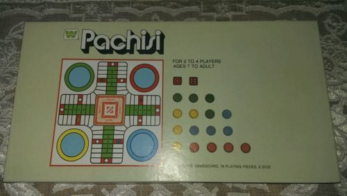 Primary image for 1974 Parchisi Game  Whitman Board Game Complete Pachisi