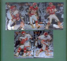 1995 Select Certified Kansas City Chiefs Football Set  - $3.00