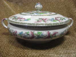 Indian Tree Tureen By Johnson Brothers  Vintage Tableware Made In Englan... - $85.95