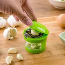 New Garlic Grater Mini Portable  Stainless Steel Garlic  Hand Presser Gr... - $6.44