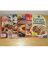 Lot of Six 6 Vintage Pillsbury Cookbooks Cookies Chicken Casseroles Holiday - $9.95