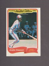 1985 Fleer Limited Edition # 8 Andre Dawson Montreal Expos NRMT  - $0.99