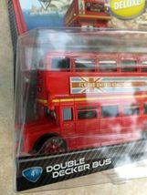 2010 Mattel sealed Disney Cars Pixar Double Decker Deluxe Bus metal toy figure  image 8