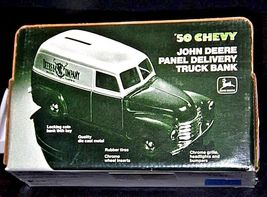 John Deere Coin Bank 1950 Chevy Panel Delivery Truck Bank U.S.A. AA18-JD0012 image 3