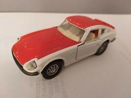 Vintage Corgi 396 -- Datsun 240Z Rally Car - Red & White - As Photo - $12.38