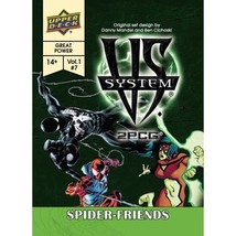 Vs System 2PCG Spider Friends Card Game Expansion Upper Deck Company UPR... - $17.89
