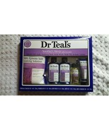 NIB DR TEAL'S SOOTHE & SLEEP W/LAVENDER 5-PC SET - $10.00