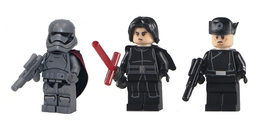 Kylo Ren Phasma Armitage Hux Star Wars Minifigures Custom Minifig Buildi... - $9.99