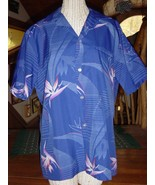 Made in Honolulu Hawaii Hawaiian Shirt Bird of Paradise Island Fashions - $6.00