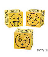 Fun Express Emoji Dice  - $9.74