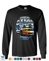 Shelby GT500 Ford Performance Long Sleeve T-Shirt Ford Mustang Cobra Rac... - $11.81+