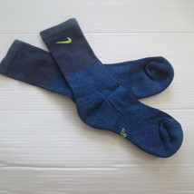 Nike Youth Cushioned Crew Socks - SX6840 - Blue Purple - Size M - NEW - $6.99