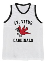 Jim Carroll Di Caprio St Vitus Basketball Diaries Jersey Sewn White Any Size image 1