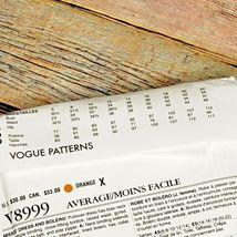 Vogue Vintage Pattern V8999 Dress Bolero Original 1954 Design Size E5 14-22 image 6