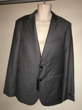 Express Blazer Suit Jacket Gray Producer Modern Fit Mens 40 Reg NWT $298 - $52.25