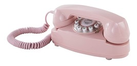 Crosley CR59-PI Princess Phone with Push Button Technology Pink - $43.00