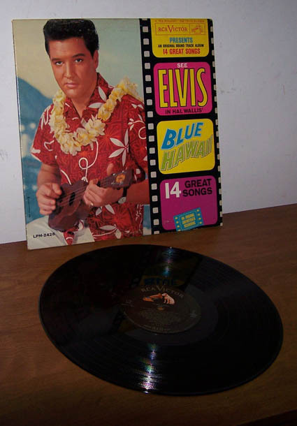 Elvis  bluehawaii