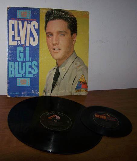 Elvis giblues 45bonus
