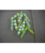 75 pcs- Mix Yellow Plastic bead charms - $14.00