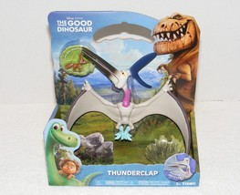 NIP DISNEY PIXAR THE GOOD DINOSAUR THUNDERCLAP POSEABLE FIGURE WITH CRITTER - $19.99
