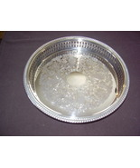 "Marlboro Silver Plate - 10"" Galley Serving Tray  - $120.00"