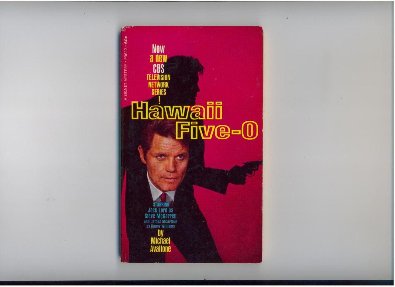 Avallone--HAWAII FIVE-0--1968, 1st printing--TV tie-in