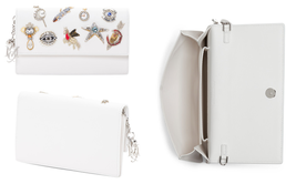 Brand New w/ Tags, ALEXANDER MCQUEEN Italian Obsession Leather Clutch in... - $1,848.34 CAD