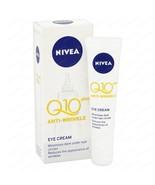 Nivea Q10 Plus Anti-Wrinkle Eye Cream 15 ml Free Shipping - $16.81