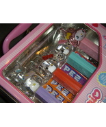 Hello Kitty Pez Dispensers in Collectible Lunch Box new in package NIP - $26.00