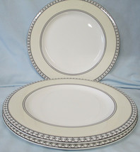 Charter Club Tuilleries Cream Round Buffet or Chop Plate Set of 3 - $33.55