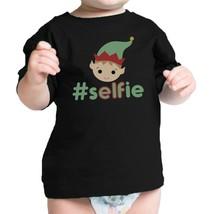 Hashtag Selfie Elf Baby Black Shirt - $13.99