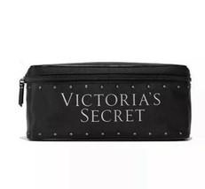 Victorias Secret Black Travel Cosmetic Train Case ~ VS Forever Angel Gift NEW - $19.95