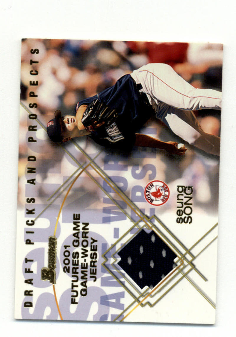 Primary image for 2001 Bowman Draft Picks and Prospects Futures Game Relics #FGR-SS Seung Song NM-