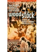 Woodstock - 3 Days of Peace & Music (The Director's Cut) [VHS] [VHS Tape... - $5.93
