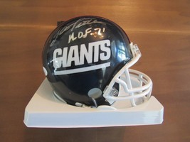 YA TITTLE NEW YORK GIANTS HOF QB SIGNED AUTO MINI HELMET JSA AUTHENTIC - $98.99