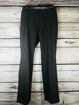 DOC & AMELIA Women's Dress Pants Size 6 Brown Classic Fit Straight Leg  - $14.01