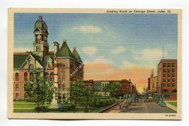 Looking North on Chicago Street Joliet Illinois - $1.59