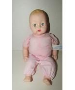 Madame Alexander baby doll sleep eyes molded hair stamped 1977 soft bean... - $19.79