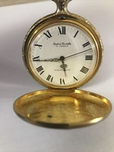 Swiss Andre Rivalle 17 Jewels Vintage Mechanical Wind Up Pocket Watch RA... - $48.37