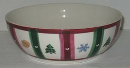 "Pfaltzgraff Holiday Christmas 9 1/4"" Round Serving Bowl - $18.81"