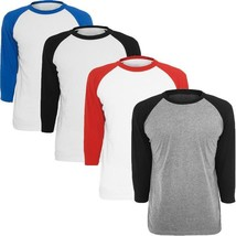 EnjoytheSpirit 2017 New Men's T-shirt Casual 3/4 Sleeve Tshirt Unisex Ra... - $25.18