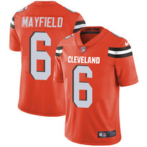 Youth Cleveland Browns #6 Baker Mayfield Orange Stitched Limited Jersey  - $54.99